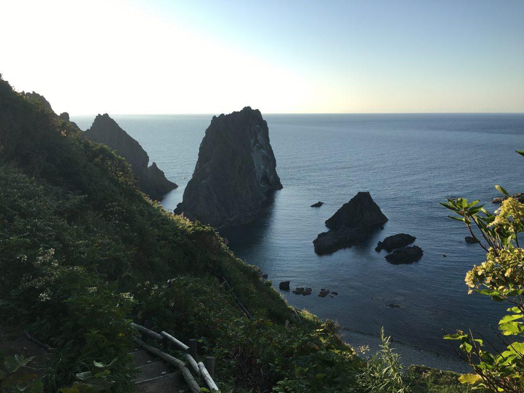 積丹岬と海2