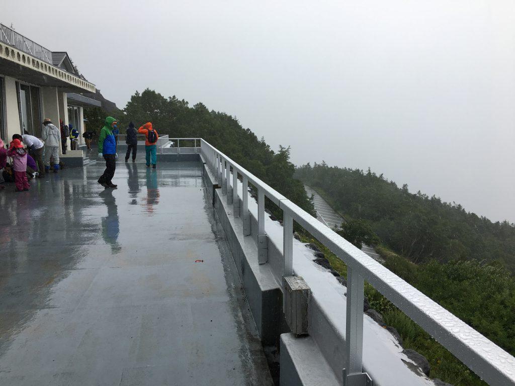 富士山5合目登山口