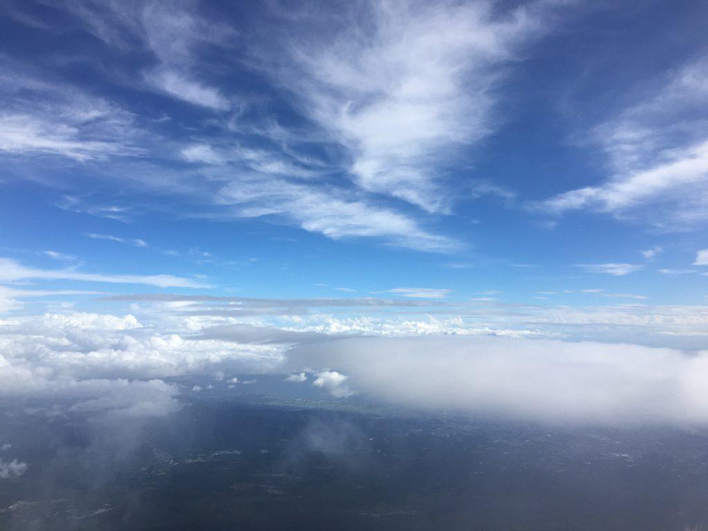 富士山頂上付近