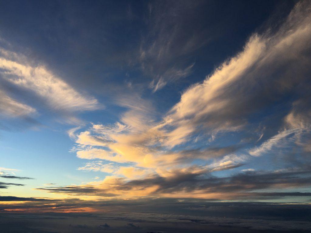 富士山山頂空