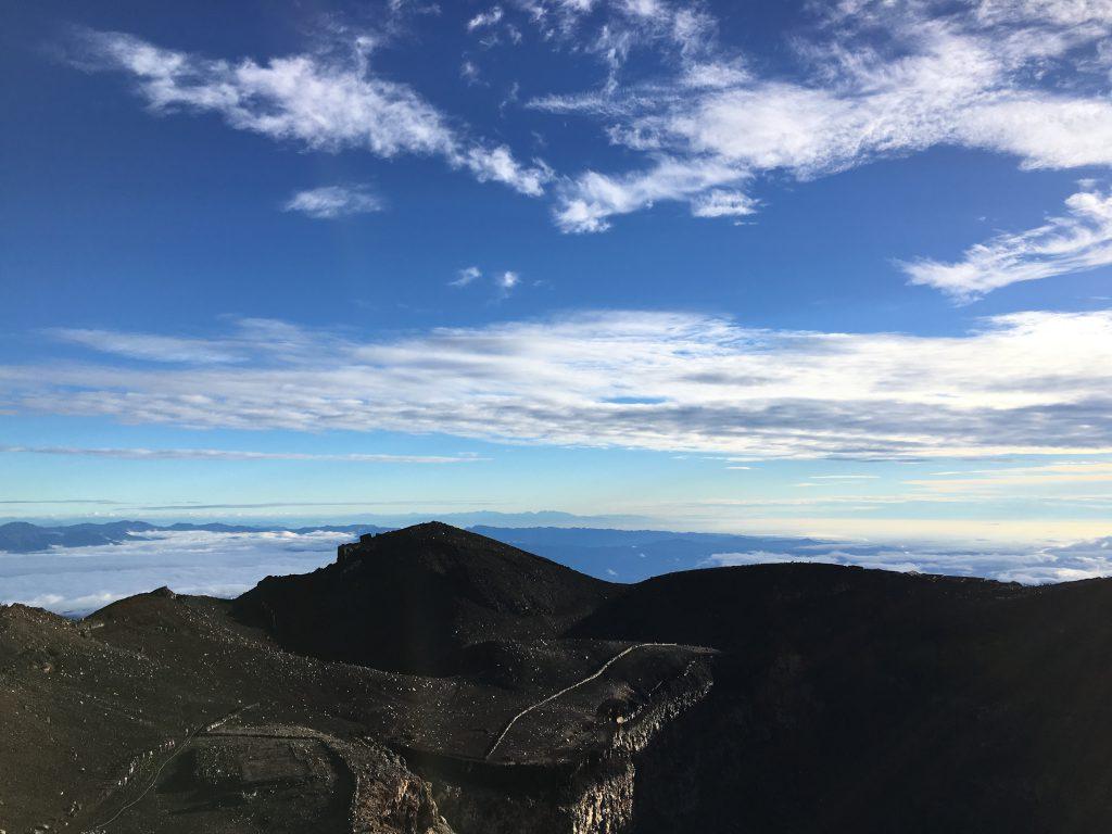 富士山最高峰剣ヶ峰
