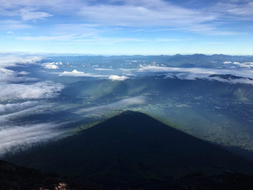 富士山影富士