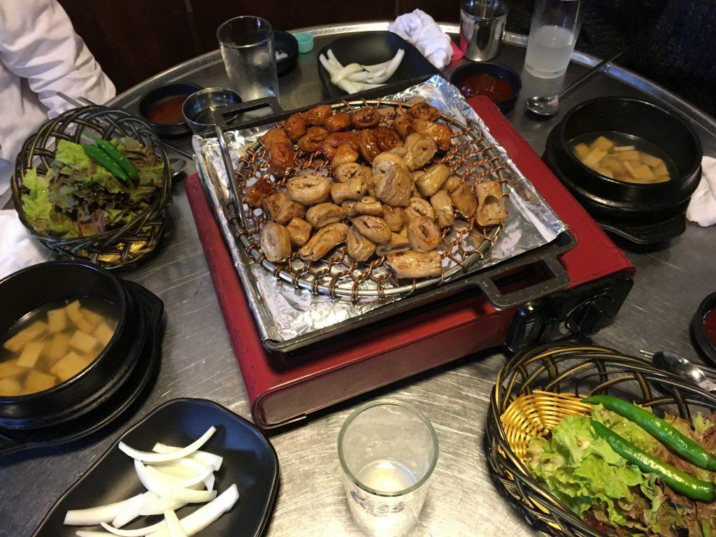 韓国焼肉ホルモン